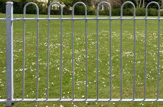 Bow Top Garden Fencing Galvanized Or Pvc Coated