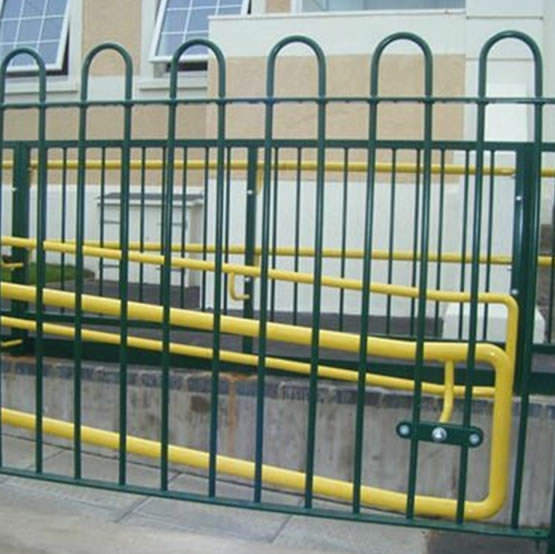 Pvc Coated Carbon Steel Pipe Bow Top Fencing Panels And